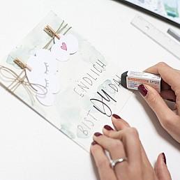 Karten selber gestalten! Wir inspirieren Sie!